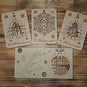 Подарки к праздникам handmade. Livemaster - original item Eternal cards. Handmade.