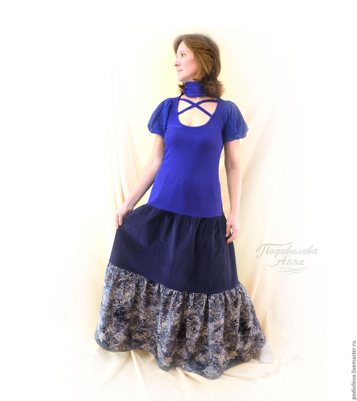 Осенняя юбка для девочки