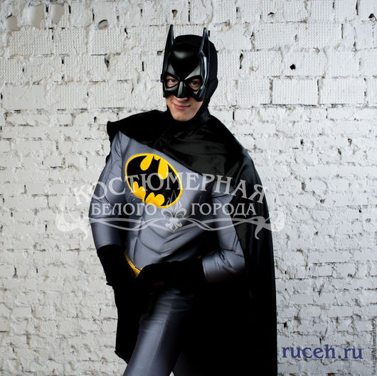 Карнавальные костюмы ручной работы. Ярмарка Мастеров - ручная работа. Купить Костюм Бэтмен. Handmade. Комбинированный, праздничный костюм