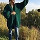 Кофты и свитера ручной работы. Кардиган крупной вязки оверсайз.. Full of Wool. Ярмарка Мастеров. Крупная пряжа