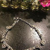 handmade. Livemaster - original item Crystal stars choker necklace, Otazu, Argentina. Handmade.