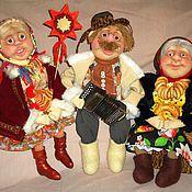 Куклы и игрушки ручной работы. Ярмарка Мастеров - ручная работа Пришла коляда.... Handmade.