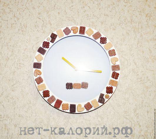 """Часы для дома ручной работы. Ярмарка Мастеров - ручная работа. Купить Настенные часы """"Утро добрым бывает"""". Handmade. Коричневый"""