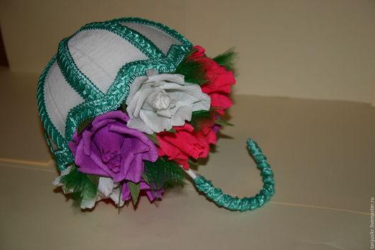 Персональные подарки ручной работы. Ярмарка Мастеров - ручная работа. Купить Букет из конфет. Handmade. Комбинированный, зонтик, розы, пенопласт