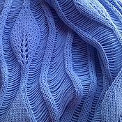 """Одежда ручной работы. Ярмарка Мастеров - ручная работа Платье ажурное вязаное """"Листья в паутинке"""". Handmade."""