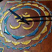 Для дома и интерьера handmade. Livemaster - original item Watch in Oriental style Yantra OM. Handmade.