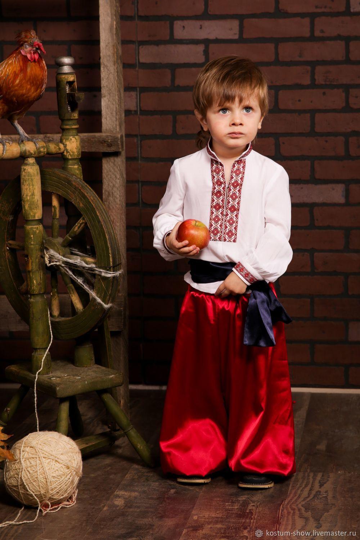 Детский арт. 1155, Народные костюмы, Москва,  Фото №1