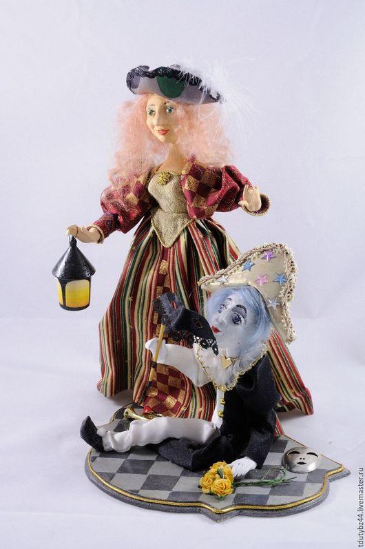 Коллекционные куклы ручной работы. Ярмарка Мастеров - ручная работа. Купить КАРНАВАЛ авторская кукла. Handmade. Комбинированный, коллекционная кукла