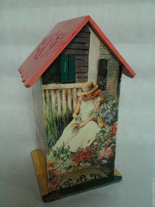 """Кухня ручной работы. Ярмарка Мастеров - ручная работа. Купить Чайный домик """" Цветочница """". Handmade. Комбинированный, цветочница"""