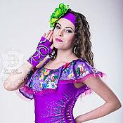 Одежда ручной работы. Ярмарка Мастеров - ручная работа Костюм для восточных танцев. Handmade.