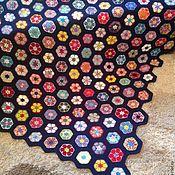 """Для дома и интерьера ручной работы. Ярмарка Мастеров - ручная работа Покрывало """"Африканский цветок"""". Handmade."""
