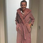 Одежда ручной работы. Ярмарка Мастеров - ручная работа Пальто с меховой подстежкой. Handmade.