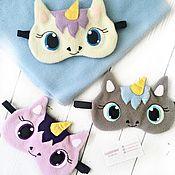Аксессуары handmade. Livemaster - original item Sleep mask