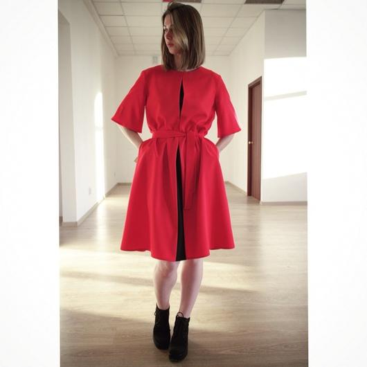 Платья ручной работы. Ярмарка Мастеров - ручная работа. Купить Красное платье. Handmade. Платье, оригинальное платье, платье на заказ