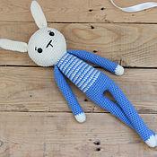 Куклы и игрушки handmade. Livemaster - original item Large knitted Bunny handmade. Handmade.