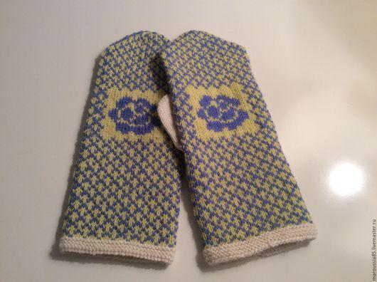 """Варежки, митенки, перчатки ручной работы. Ярмарка Мастеров - ручная работа. Купить Варежки """" Купеческие """". Handmade."""