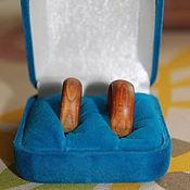 Свадебный салон ручной работы. Ярмарка Мастеров - ручная работа Деревянные обручальные кольца. Handmade.