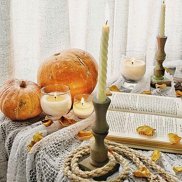 Для дома и интерьера ручной работы. Ярмарка Мастеров - ручная работа Аромасвечи. Ароматические свечи со 100% натуральными эфирными маслами. Handmade.