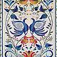 Ethnic Art handmade. Livemaster - handmade. Buy Gzhel.Handmade, gzhel, embroidered ribbons, gzhel motifs
