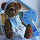 Мишки Тедди ручной работы. Заказать медведь игрушка тедди Молли. Кукломания (kuklo-mania). Ярмарка Мастеров. Медведь тедди