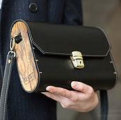 Сумки и аксессуары handmade. Livemaster - original item Black leather bag Big Bag Black women. Handmade.
