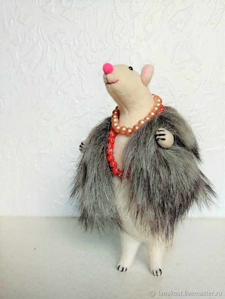 Ellochka the rat in a vest from ' Shanghai leopards', Toys, St. Petersburg,  Фото №1