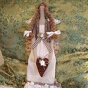 Куклы и игрушки ручной работы. Ярмарка Мастеров - ручная работа Интерьерная кукла Ангел Тильда в стиле Кантри. Handmade.