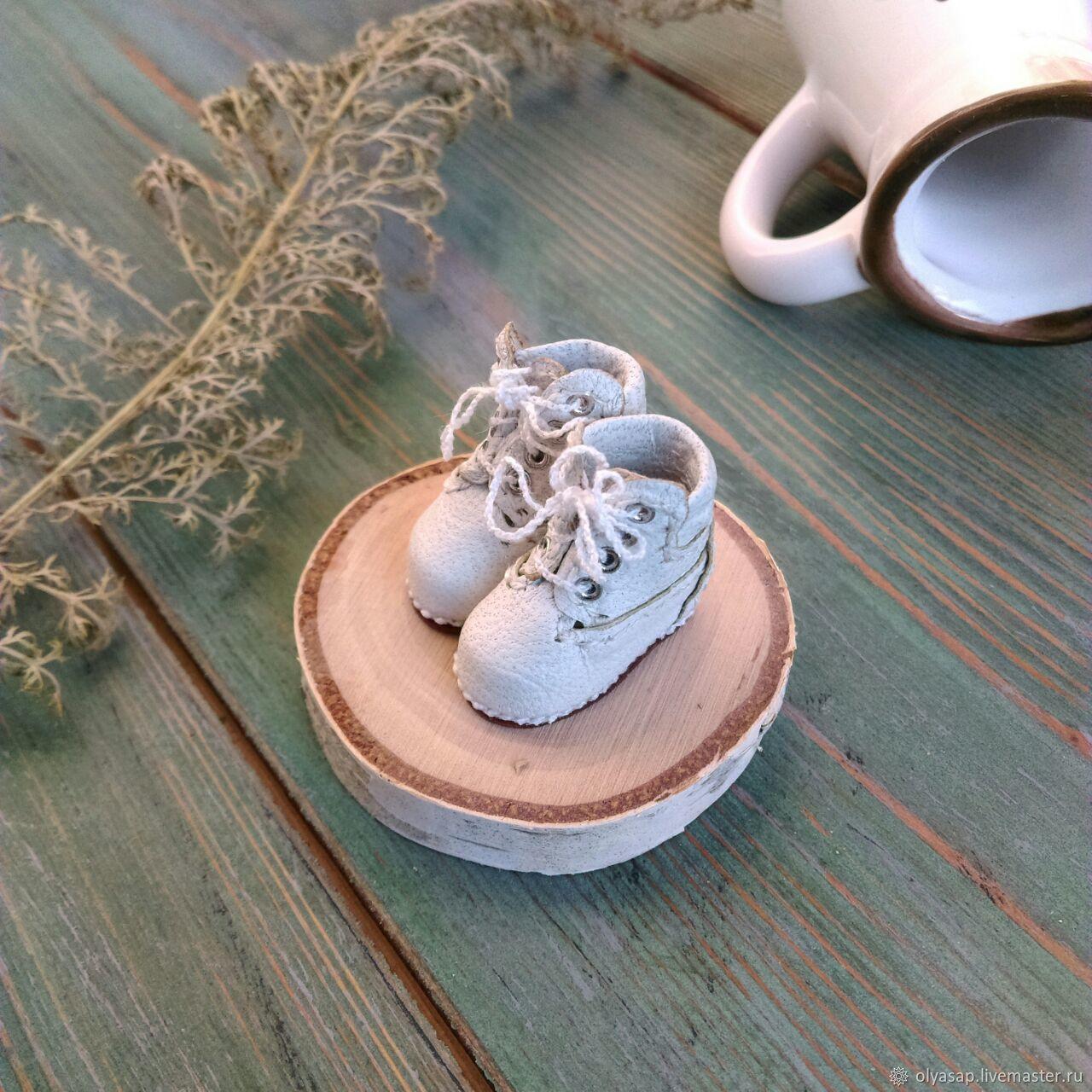 Тимберленды белые для блайз, Одежда для кукол, Новосибирск,  Фото №1