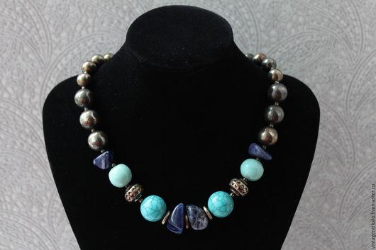 Винтажные украшения. Ярмарка Мастеров - ручная работа. Купить 1980гг Dauplaise ожерелье бусы винтаж. Handmade. Разноцветный, винтаж подарок