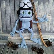 Куклы и игрушки handmade. Livemaster - original item Crazy Frog. Handmade.