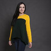 Одежда ручной работы. Ярмарка Мастеров - ручная работа KALA LUNA Пуловер женский. Handmade.