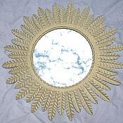 Для дома и интерьера ручной работы. Ярмарка Мастеров - ручная работа Кованое зеркало - солнце. Handmade.
