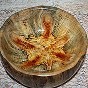 Деревянная чаша Черепаха