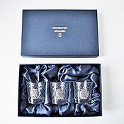 Сувениры и подарки handmade. Livemaster - original item Set of ST. GEORGE the great MARTYR - 3 stack in a case (3х50мл). Handmade.