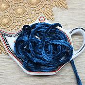 Материалы для творчества handmade. Livemaster - original item Accessories for embroidery: Chenille polyester 5 mm Zircon, 1 meter. Handmade.