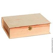 Материалы для творчества handmade. Livemaster - original item 29187K blank box in book 33 22.5 8 cm.. Handmade.