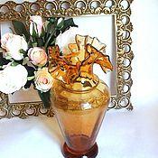 Для дома и интерьера handmade. Livemaster - original item Hand blown glass vase from the island of Majorca. Handmade.
