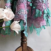 """Одежда ручной работы. Ярмарка Мастеров - ручная работа Валянная юбка из шерсти и шелка """"Bernice"""". Handmade."""