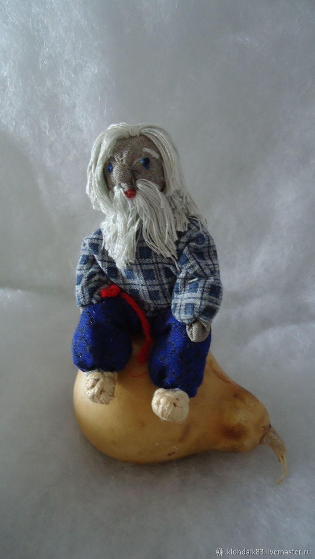 Сувениры ручной работы. Ярмарка Мастеров - ручная работа. Купить Дед Кузьма. Handmade. Народная кукла, оберег для дома