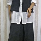 Одежда handmade. Livemaster - original item Set of skirt-pants and vest.. Handmade.