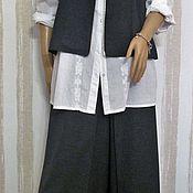 Одежда handmade. Livemaster - original item Set of skirt-pants and vest.. Handmade.