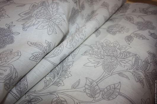 Шитье ручной работы. Ярмарка Мастеров - ручная работа. Купить Ткань постельная. Handmade. Серебряный, постельное белье, натуральные волокна