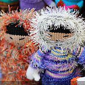 Куклы и игрушки handmade. Livemaster - original item The Eskimos. Handmade.