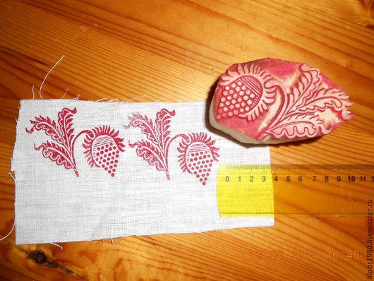 Другие виды рукоделия ручной работы. Ярмарка Мастеров - ручная работа. Купить Деревянный штамп. Handmade. Ручная набойка, хобби