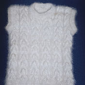 Одежда handmade. Livemaster - original item Women`s knitted vest. Handmade.