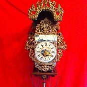Старинные настенные часы Голландия Редкость