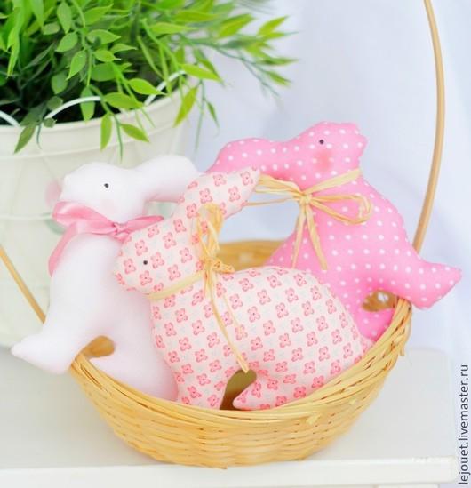 Куклы Тильды ручной работы. Ярмарка Мастеров - ручная работа. Купить Кролики пасхальные. Handmade. Кролик ТИЛЬДА, пасхальный подарок