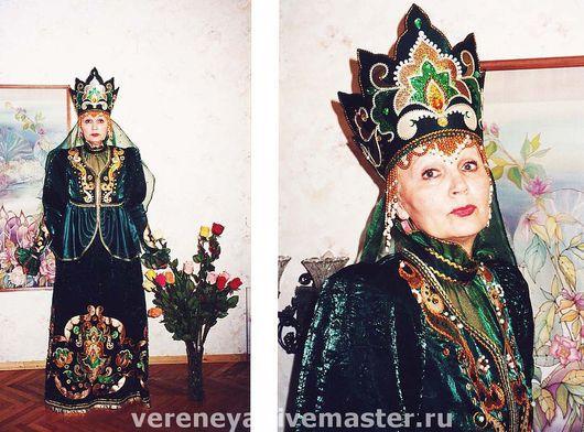 Представительский костюм` Хозяйка Медной Горы ` Для РТИ г. Екатеринбург