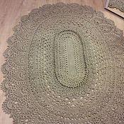 Для дома и интерьера handmade. Livemaster - original item Carpet jute `may miracle`. Handmade.