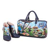 Обувь ручной работы handmade. Livemaster - original item Leather bag and ankle boots